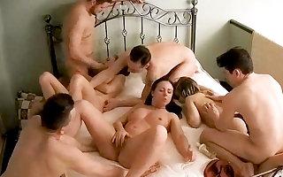 Massive Amateur Teenage Orgy, Swinger Take effect on Hidden Cam